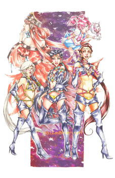Sailormoon: Sailor Starlights by karniz