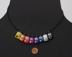 Game Necklace 6 by pongojam