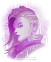 Sombra Purple Hack by luffie