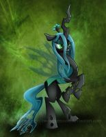 Queen Chrysalis by TwoTigerMoon
