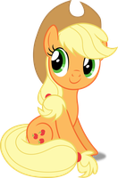 Vector #310 - Applejack #17 by DashieSparkle