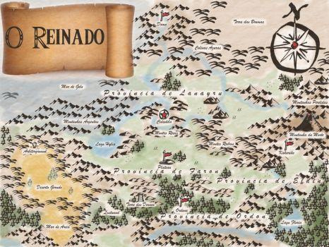 Mapa do Reinado 0.1 by LinkGallant