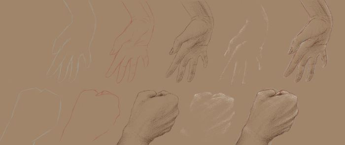 hand study by MaayanCohen