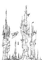 SF Towers by rcdg