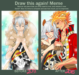 Meme  Before And After  by Awskitee