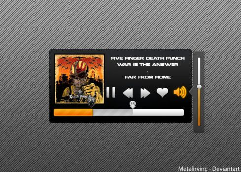 Media Player .PSD by MetalIrving