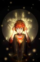 mystic messenger 707- garden of music {SPEEDPAINT} by Paluumin