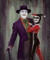 Joker and Harley by RJColquhoun