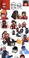 TF2- October Drawings by RKPiratedrawer