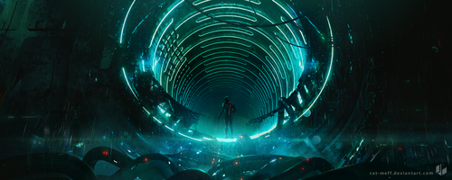 Tunnel Entry by cat-meff