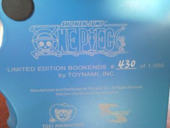 One Piece Bookends Numbering by l3xxybaby