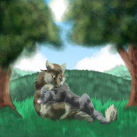 Loyld and Filow YCH Completed by Gerundive