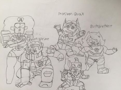 Steven Universe/Transformers Fusions by Hulk61