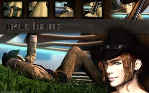 Irvine Kinneas Wallpaper by Miss-Mad-Hatter87