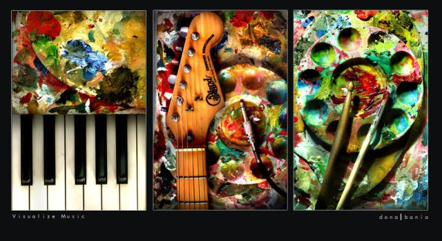 Visualize Music by donutello