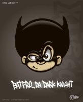 MrAfro67 - Batfro by jpnunezdesigns
