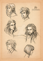A Study in Faces by KuroCyou