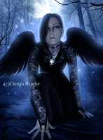 Angel Oscuro by DenysDigitalArtwork