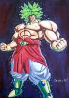 Broly Dragon Ball Z By Demy by Demy111