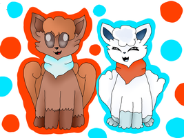 Collab- Vulpix by EliUndertaleLover
