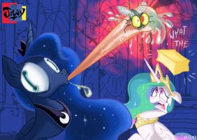 Just an normal day at the Canterlot castle by Jowybean