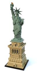 Lego Architecture 21042 Statue of Liberty. by perrylegocity60134