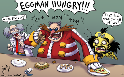 Dinner With Eggman by JenL