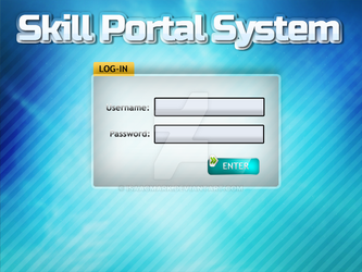 Skill Portal System Login Page by isaacmark
