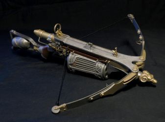 Van Helsing crossbow miniature by darth-biomech