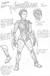Promus Kaa's Witchblade by Promus-Kaa