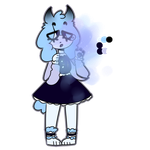 feelin blue poodlie [auction] closed by pff-f