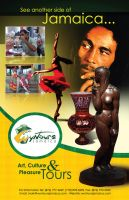 Jamaican culture poster by owdesigns