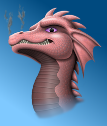 Dragon Character for a Friend by Kryptid