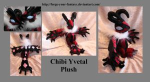 Chibi Yvetal - Auction - Pokemon X and Y by Forge-Your-Fantasy