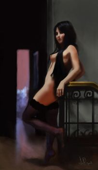 pinup by igorbusquets