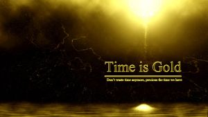 Time is Gold Word Edition by txvirus