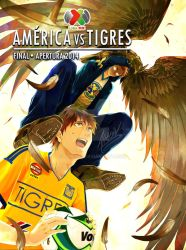 FINAL MATCH 2014 LIGA MX::::: AMERICA vs TIGRES by alriv85