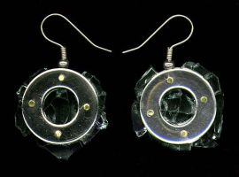 Dangerous Jewelry: Earrings by spookymonkey