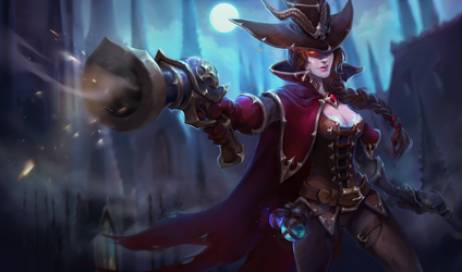 Miss Fortune - Witch Hunter by Uruno-Morlith