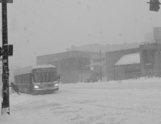 First Blizzard of 2018, January 25 by Miss-Tbones