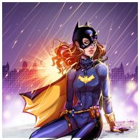Batgirl sketch by Igloinor