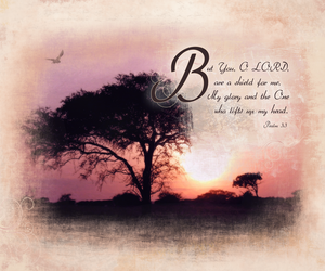 psalms 3:3a by madetobeunique