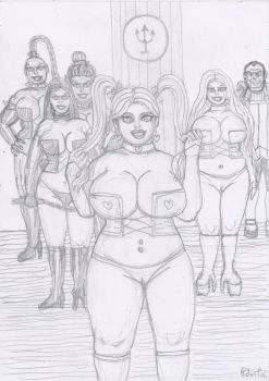 Long live the White Princess of Hellfire Club by yerbouti
