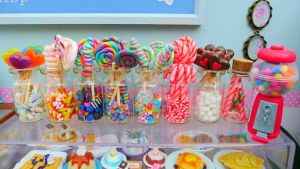 1/6th scale Sweet Shop - miniature sweet shop by LittlestSweetShop