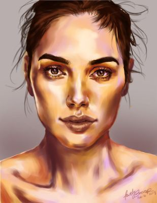 Gal Gadot by Lovely-Bacar