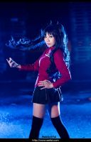 Fate Stay Night Rin Tohsaka Cosplay 03 by eefai
