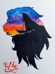 Lion king watercolor  by Eif-ka