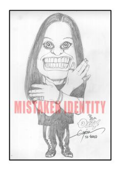 MR. OZZY OSBOURNE - CARICATURE by GAYOUR