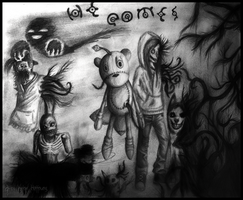 Crossover Creepypasta (He Comes) by Akira-keineHoffnung