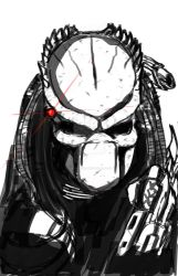 predator sketch by larthosgrr8